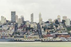 Горизонт Сан-Франциско, Калифорния Стоковое Изображение RF