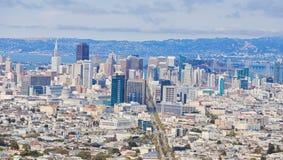 Горизонт Сан-Франциско Стоковое Изображение