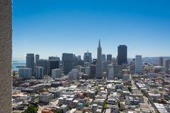 Горизонт Сан-Франциско Стоковая Фотография