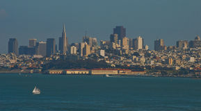 Горизонт Сан-Франциско Стоковое фото RF
