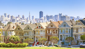 Горизонт Сан-Франциско стоковое фото