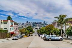 Горизонт Сан-Франциско Стоковые Фото