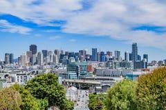 Горизонт Сан-Франциско Стоковое Изображение RF