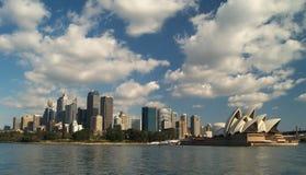 горизонт Сидней Стоковые Изображения RF