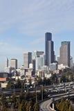 Горизонт Сиэтл, Вашингтон, США Стоковое фото RF