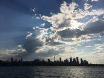 Горизонт Сиднея CBD Стоковое Изображение