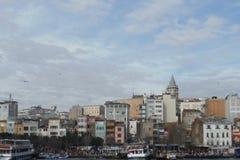 Горизонт Стамбула Стоковое Фото