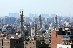 Горизонт старого Каира Стоковое Фото
