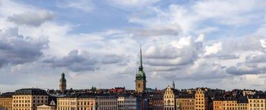 Горизонт Стокгольма Стоковые Изображения RF