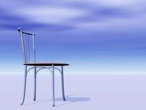 горизонт стула пустой Стоковое Изображение