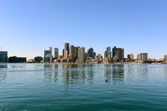 горизонт США boston massachusetts Стоковая Фотография