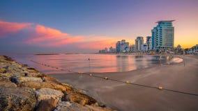 Горизонт Тель-Авив стоковые изображения