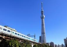 Горизонт токио стоковые фотографии rf