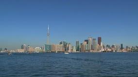 Горизонт Торонто, Канада сток-видео