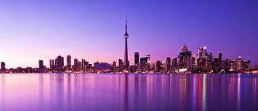 Горизонт Торонто Стоковые Фотографии RF
