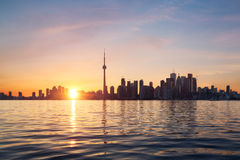 Горизонт Торонто Стоковое Изображение