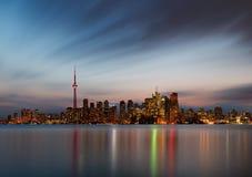 Горизонт Торонто Стоковые Изображения RF