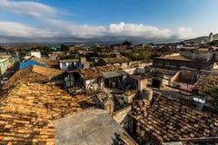 Горизонт Тринидада, Кубы стоковая фотография rf