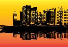 горизонт урбанский Иллюстрация штока