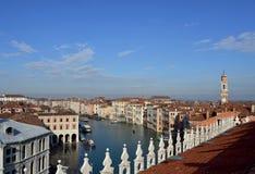Горизонт утра Венеции Стоковые Изображения RF