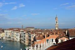 Горизонт утра Венеции Стоковая Фотография