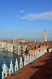 Горизонт утра Венеции Стоковое фото RF