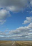горизонт хайвея к Стоковые Фотографии RF