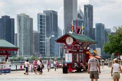 Горизонт Чикаго стоковое изображение