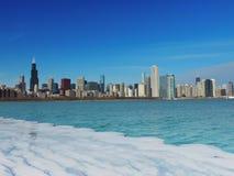 Горизонт Чикаго Стоковые Изображения RF