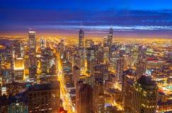 Горизонт Чикаго Стоковые Фото
