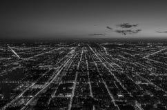 Горизонт Чикаго Стоковое Изображение RF