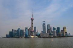 Горизонт Шанхая Стоковая Фотография RF
