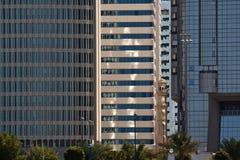 горизонт Abu Dhabi Стоковое фото RF