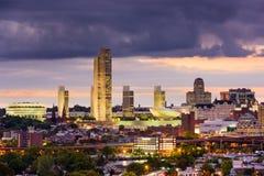 Горизонт Albany Нью-Йорка Стоковое Изображение RF