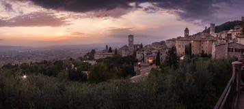 Горизонт Assisi стоковое фото rf