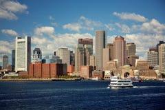 горизонт boston Стоковая Фотография RF