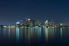 горизонт boston Стоковая Фотография