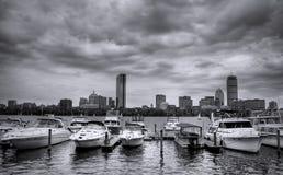горизонт boston Стоковое фото RF