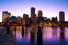 горизонт boston Стоковое Фото