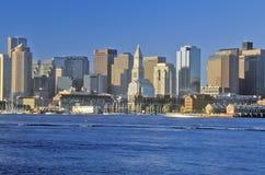 горизонт boston massachusetts Стоковые Фото