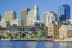 горизонт boston massachusetts Стоковые Изображения
