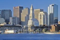 горизонт boston massachusetts Стоковое Изображение
