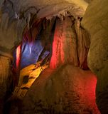 горизонт caverns стоковое изображение