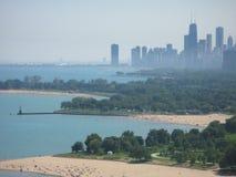горизонт chicago городской Стоковое Изображение