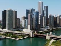 горизонт chicago стоковые фото