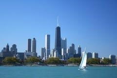 горизонт chicago Стоковая Фотография RF
