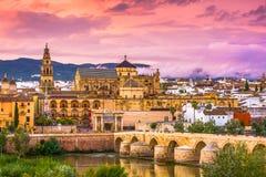 Горизонт Cordoba, Испании стоковые фотографии rf