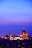горизонт florence Италии Стоковая Фотография RF