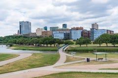 Горизонт Fort Worth, Техаса Стоковое Фото