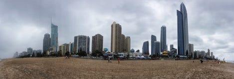 Горизонт Gold Coast Стоковые Изображения